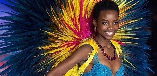 Maria Borges Wears Natural Hair For Victoria's Secret Fashion Show For 1st Time